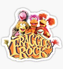 Fraggle Rock Fraggles 80s Muppets Sticker