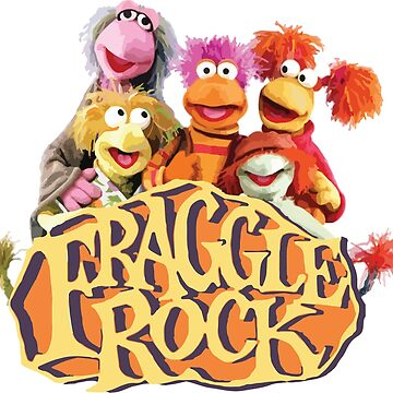 Fraggle Rock Fraggles 80s Muppets by neonfuture