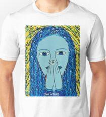 PRAYING LADY Unisex T-Shirt