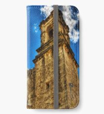 High Noon at the Bell Tower iPhone Wallet/Case/Skin