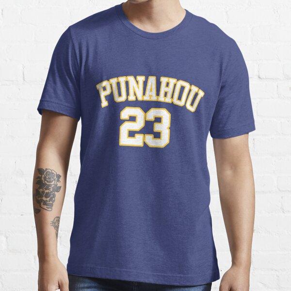 PUNAHOU HIGH SCHOOL BARACK OBAMA BASKETBALL T SHIRT JERSEY Essential T-Shirt