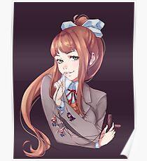 Just Monika -  Doki Doki Literature Club Poster