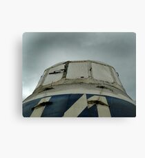 Old military plane 2 Canvas Print
