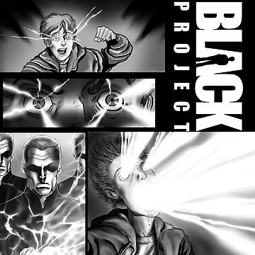 BLACK PROJECT PANEL ATTACK! by CrazyPencilComx