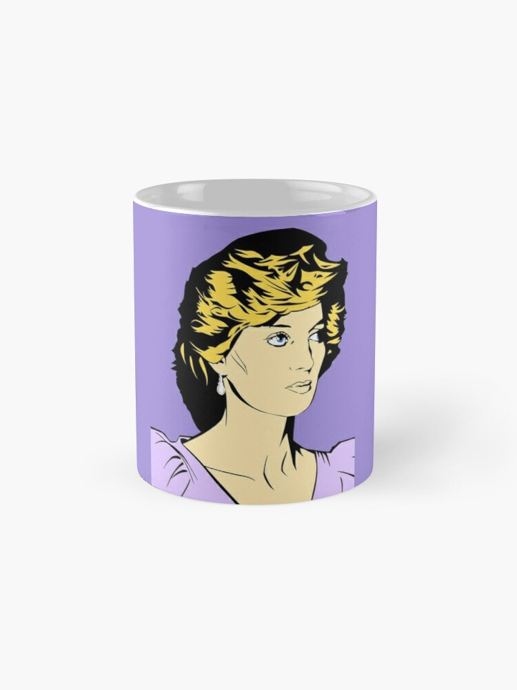 Alternate view of Princess Diana Queen of Hearts Mug