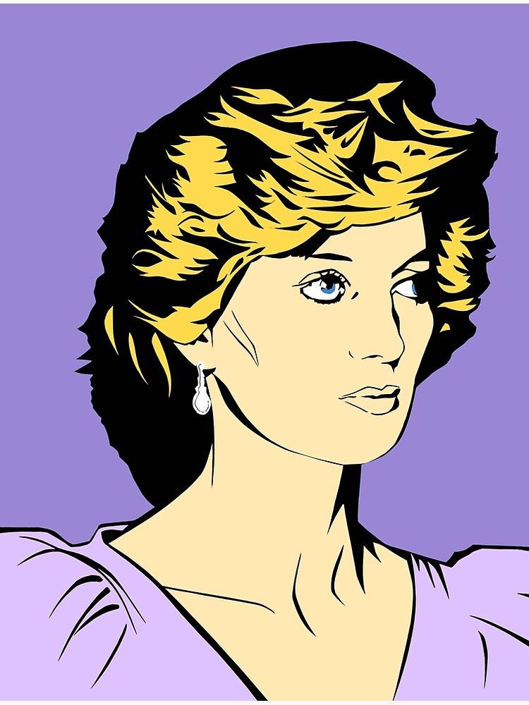 Princess Diana Queen of Hearts by richackoon