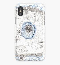 Eukaryotic, hand drawn ACEO  iPhone Case/Skin