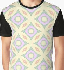 theme flower graphics the structure of the patterns star seamless colorful repeat pattern Graphic T-Shirt