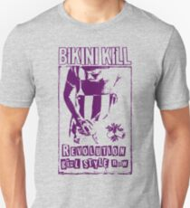 Bikini Kill Revolution Girl Feminism Riot Slim Fit T-Shirt