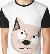 Cat and fly Graphic T-Shirt