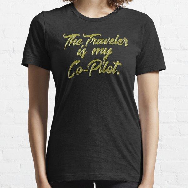 El viajero es mi copiloto Camiseta esencial