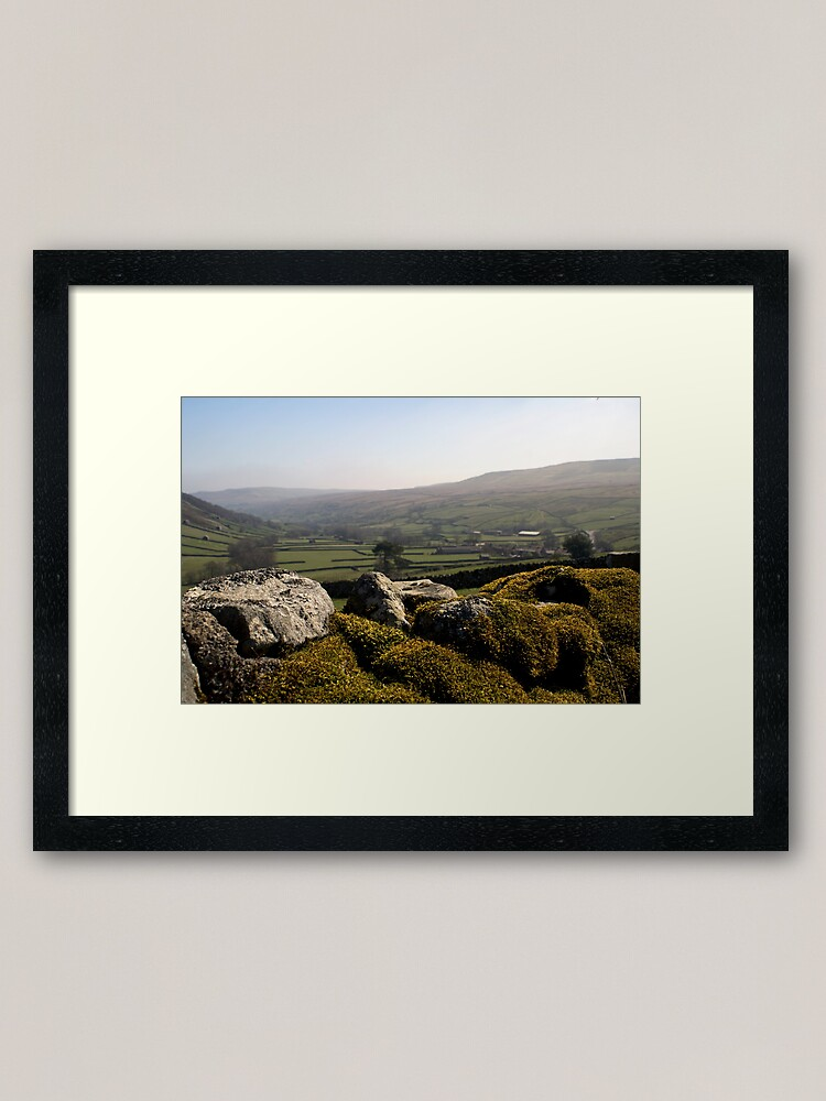Alternate view of Dry Stone Wall Framed Art Print