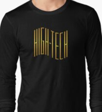 Wonderful high tech wave gold color Long Sleeve T-Shirt
