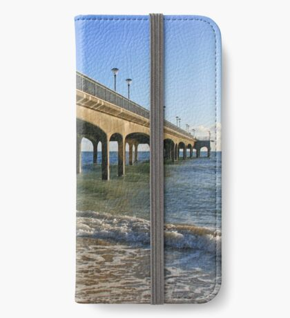 Boscombe Pier iPhone Wallet