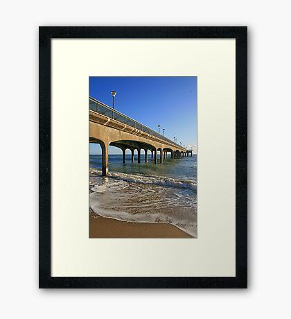 Boscombe Pier Framed Print