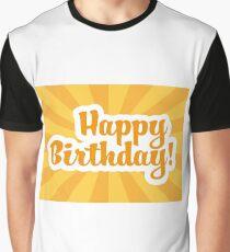 Happy Birthday Graphic T-Shirt