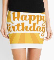 Happy Birthday Mini Skirt