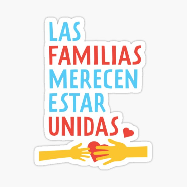 Families Belong Together (Trump protest) Sticker