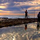 Where are the Angels - Cronulla, NSW by Malcolm Katon