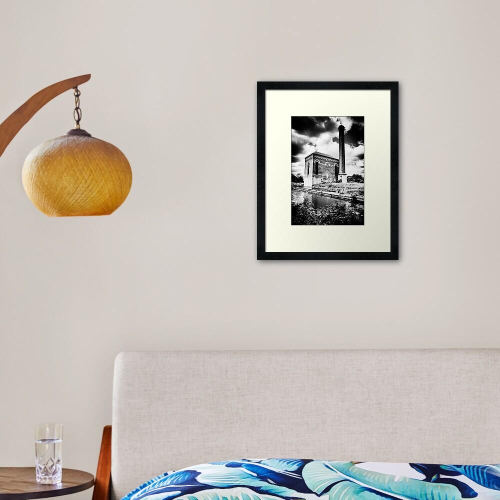 The Pump House Framed Art Print