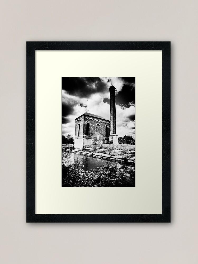 Alternate view of The Pump House Framed Art Print