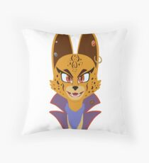 Pirate Queen (Billie Bust Up) [BBU] Throw Pillow