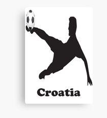 Croatia Soccer Canvas Print