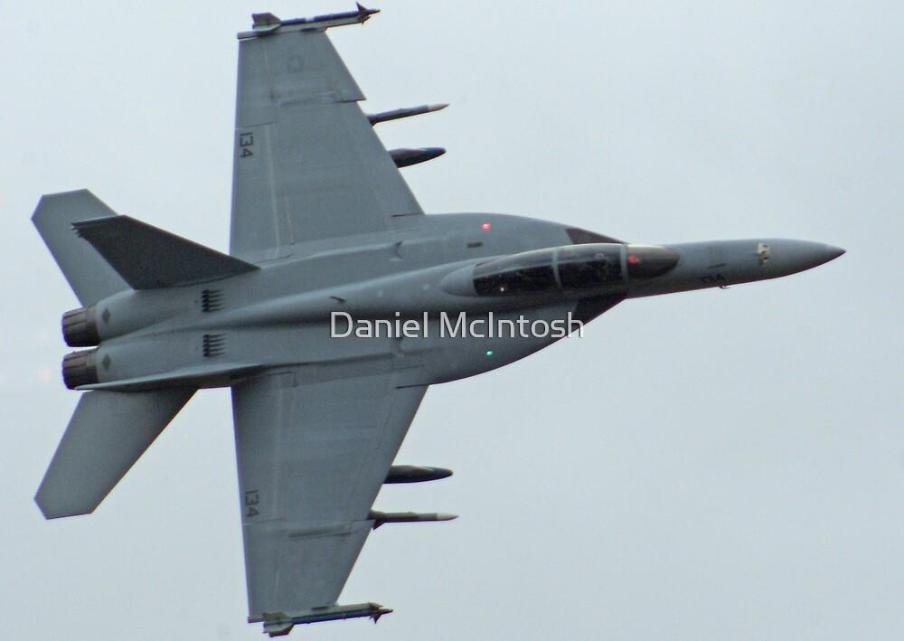 F/A-18F Super Hornet by Daniel McIntosh