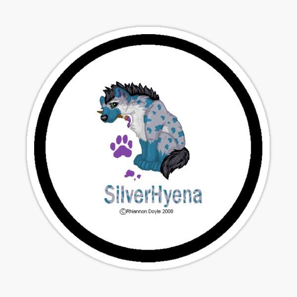 SilverHyena Logo Sticker