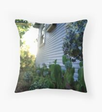 Rhododendrons Throw Pillow