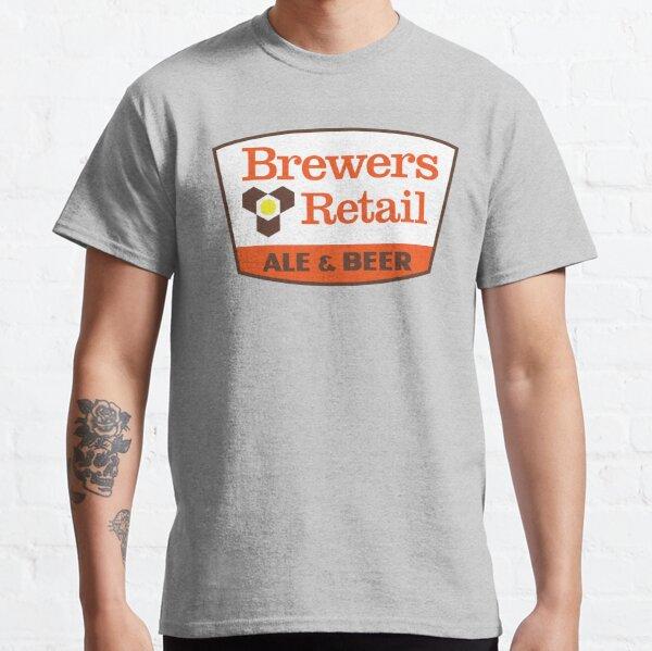 Brewers Vente au détail T-shirt classique