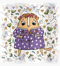 The Midsummer cat Poster