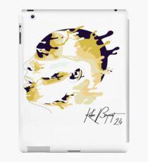 Drip-effect portrait Kobe Bryant iPad Case/Skin