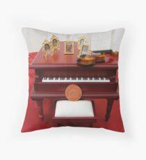 Music of Grandchildren Throw Pillow