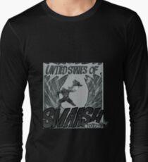 Smash Bros Manga Long Sleeve T-Shirt