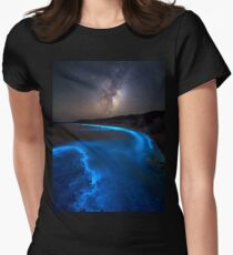 Milky Bioluminescence - 2nd Edition Women's Fitted T-Shirt