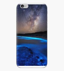 Milky Way Over Sea Sparkle Bay iPhone Case