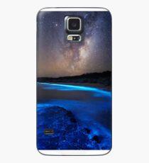 Milky Way Over Sea Sparkle Bay Case/Skin for Samsung Galaxy