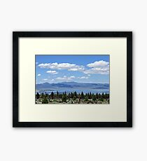 Mono Magic Framed Print