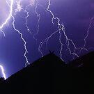 Lightning strike by John Spies
