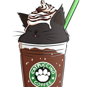 Chocolate CATpuccino by amcart