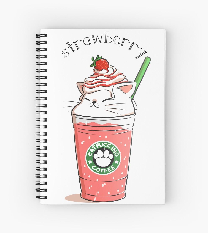 «Strawberry CATpuccino» de amcart