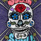 Sugar skull v2 by DarkRubyMoon