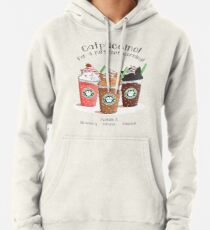 Catpuccino! For a purrfect morning! Pullover Hoodie