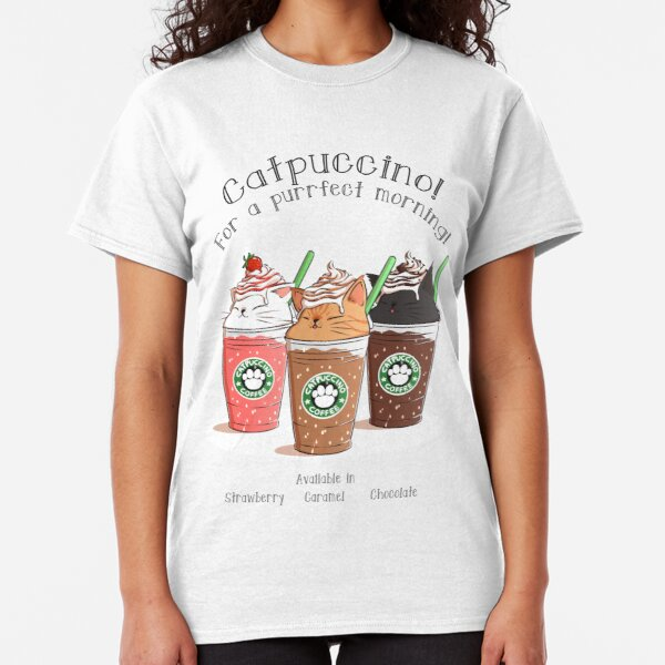 Catpuccino! For a purrfect morning! Classic T-Shirt