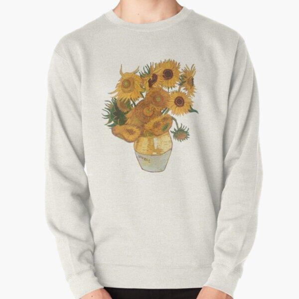 Van Gogh sunflowers Pullover Sweatshirt