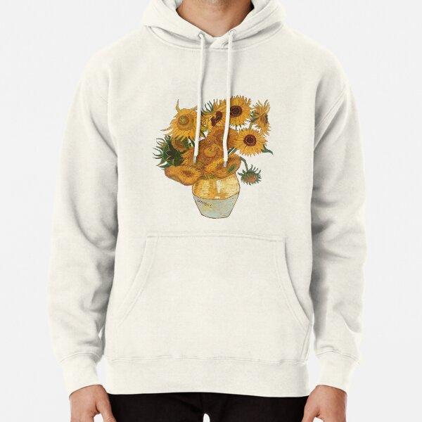 Van Gogh sunflowers Pullover Hoodie