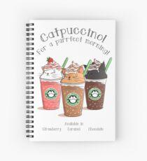 Catpuccino! Für einen perfekten Morgen! Spiralblock