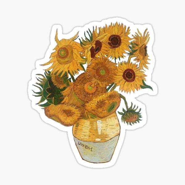 Van Gogh Sonnenblumen Sticker