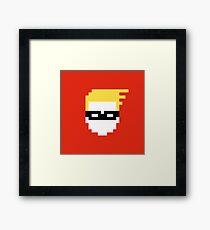 Retro Dash Framed Print